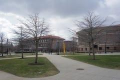 Den härliga universitetsområdet av det Purdue universitetet royaltyfria foton