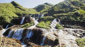 Den härliga vattenfallet Arkivbilder