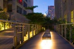 Den höga linjen NYC Fotografering för Bildbyråer