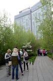 Den höga linjen NYC Tom Wurl Arkivbild