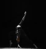 Den höga ljus och linjen-should've sald, älskar jag du-modern dans Fotografering för Bildbyråer