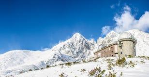 Den höga Tatrasen, Slovakien Arkivfoto
