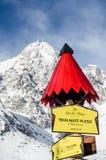 Den höga Tatrasen, Slovakien Arkivfoton