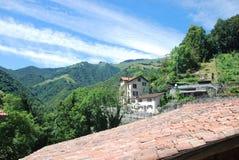 Den högre delen av den Muggio dalen Fotografering för Bildbyråer