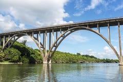 Den högsta bron av Kuban Royaltyfri Fotografi