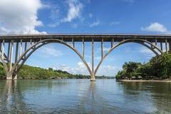 Den högsta bron av Kuban Royaltyfri Bild