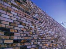 Den högsta tegelstenväggen arkivfoton