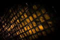 Den h?rliga closeupen texturerar abstrakta tegelplattor och svart gul f?r f?rgexponeringsglasmodell f?r v?gg bakgrund f?r guld oc arkivbilder