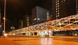 Den Haag bij Nacht stock fotografie