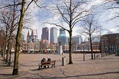 Den Haag Nederländerna Arkivbilder