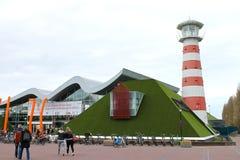 DEN HAAG, NEDERLAND - APRIL 7: Bezoekende toerist Royalty-vrije Stock Afbeelding