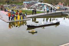 DEN HAAG, NEDERLAND - APRIL 7: Bezoekende toerist Stock Foto's
