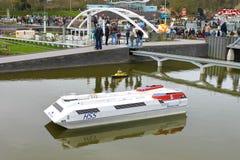 DEN HAAG, NEDERLAND - APRIL 7: Bezoekende toerist Royalty-vrije Stock Fotografie