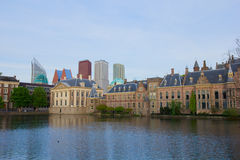 Den Haag, Netherlands. City center of Den Haag - old and new, Netherlands Stock Image