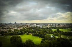 Den Haag, NL in der Neigungschiebeminiatur stockfotografie