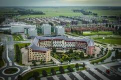 Den Haag, NL in der Neigungschiebeminiatur lizenzfreies stockbild