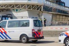 Den Haag, pilier de Schevennigen, Pays-Bas Images libres de droits