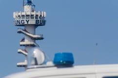 Den Haag, Schevennigen-Pier, die Niederlande Lizenzfreies Stockfoto