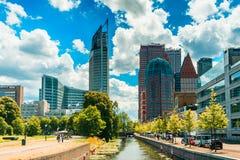 Den Haag-/Haag-Skyline lizenzfreies stockfoto