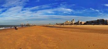 Den Haag strand Royaltyfri Fotografi