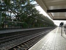Den Hague ferroviario immagine stock