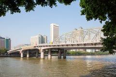 Den Haizhu bron 2 Arkivbild
