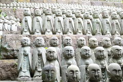 Den Hasedera templet lokaliseras i Kamakura Arkivbilder