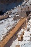 Den Hatchepsut templet fördärvar Luxor egypt Royaltyfria Bilder