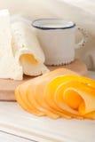 den heese frukosten mjölkar Royaltyfria Foton