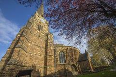 Den heliga griften i Northampton royaltyfria bilder