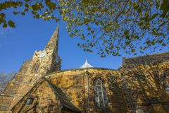 Den heliga griften i Northampton royaltyfri bild