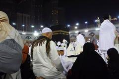 Den heliga Kaabaen Arkivfoto
