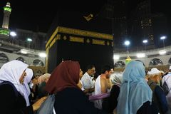 Den heliga Kaabaen Arkivbilder