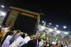 Den heliga Kaabaen Arkivfoton