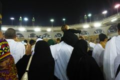 Den heliga Kaabaen Royaltyfria Foton