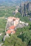 Den heliga kloster av Rousanou Arkivfoton