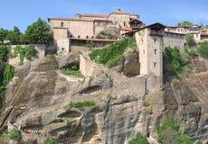 Den heliga kloster av stora Meteoron Arkivbild