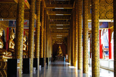 Den heliga templet, det perfekta läget som mediterar Arkivfoto