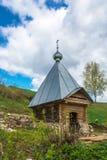 Den heliga våren av dagen för St Leonty Mikhailovsky på våren, 05 Arkivfoton