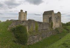 Den Helmsley slotten, Helmsley, North Yorkshire förtöjer, North Yorkshire, England Arkivbild