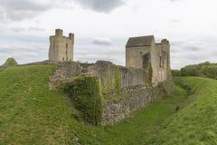 Den Helmsley slotten, Helmsley, North Yorkshire förtöjer, North Yorkshire, England Arkivbilder
