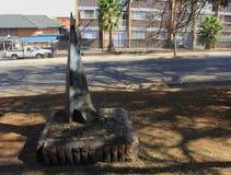 Den Hendrik Verwoerd obelisken Royaltyfria Bilder