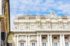 Den hertigliga slotten Arkivfoto