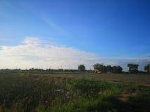 Den himmel och denna äng arkivfoto