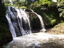 Den Hinulugang Taktak naturen parkerar i den Taktak vägAntipolo staden, Filippinerna royaltyfria bilder