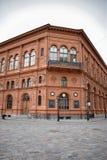 Den historiska byggnaden av den Riga börsen Royaltyfria Foton