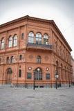 Den historiska byggnaden av den Riga börsen Royaltyfri Fotografi