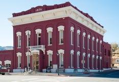 Den historiska Eureka County domstolsbyggnaden Royaltyfri Bild