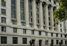 Den historiska Fulton County Courthouse i Atlanta Arkivbild