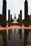 Den historiska gamla staden av Sukhothai, Thailand Arkivfoton